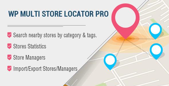 WP Multi Store Locator Pro v2.9 Plugin Download