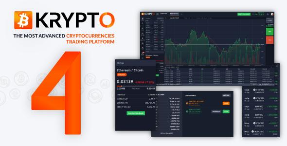 Krypto v4.1 – Live Trading, Advanced Data, Market Analysis, Watching List, Portfolio, Subscriptions PHP Script