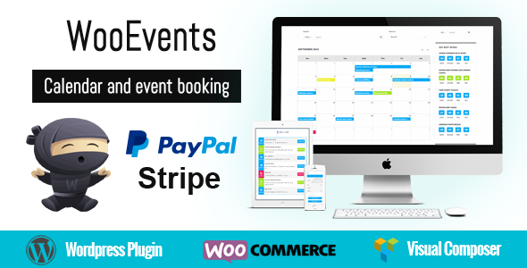 WooEvents v3.5.1 – Calendar and Event Booking Plugin Download