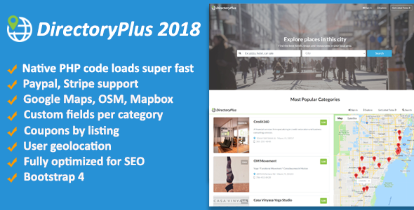 DirectoryPlus v1.08 – Business Directory PHP Script Download