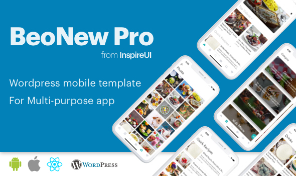 BeoNews Pro v2.9.0 – React Native mobile app for WordPress Mobile App Download