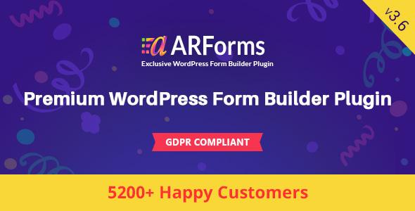 ARForms v3.6 – WordPress Form Builder Plugin Download