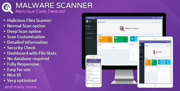 Malware Scanner v1.1 – Malicious Code Detector PHP Script Download