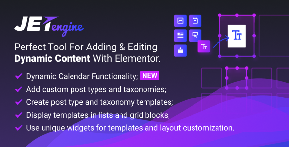 JetEngine v1.2.5 – Adding & Editing Dynamic Content Plugin Download