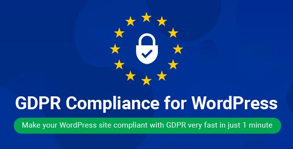 WordPress GDPR Compliance 2019 v1.9.2 Plugin Download