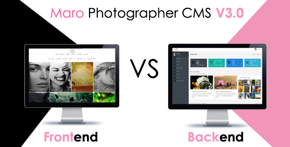 Maro Phpotographer CMS v2.2 PHP Script