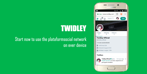 Twidley v2.0.1 – The Pro Social Network – nulled PHP Script