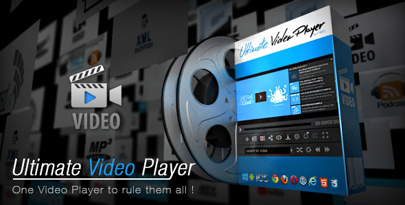 Ultimate Video Player v6.0 PHP Script
