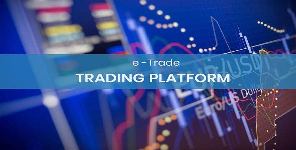 eTrade – Online Trading Platform PHP Script