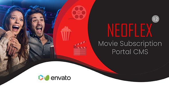 Neoflex v1.2 – Movie Subscription Portal Cms PHP Script