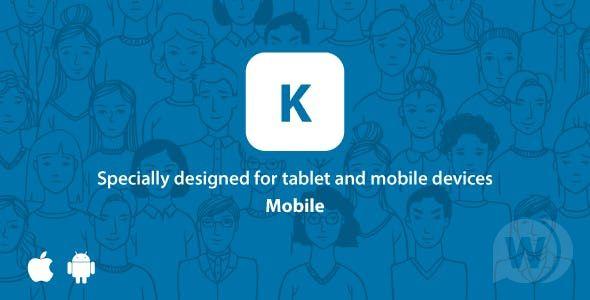 Kontackt – Mobile-Friendly (PHP Social Network) v1.12 PHP Script Download