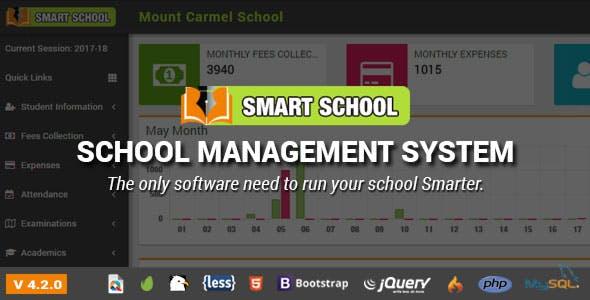 Smart School v4.2.0 – School Management System – nulled PHP Script Download