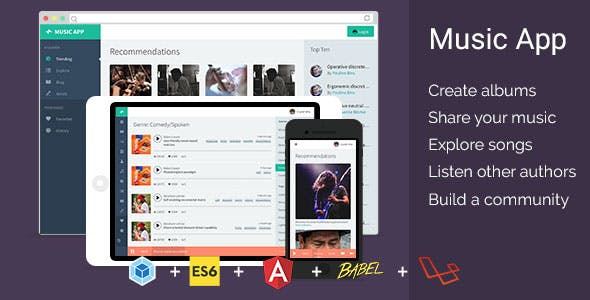 Music Cloud Community v1.2.2 – Share your songs with the world PHP Script