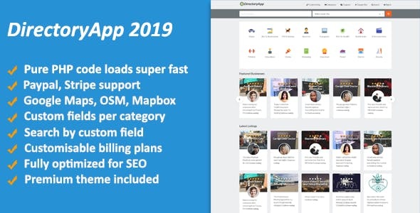 Directoryapp v1.09 – Business Directory PHP Script