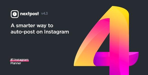 Instagram Media Planner v4.3.0 PHP Script