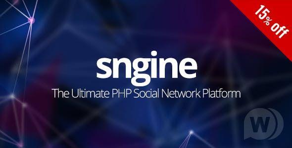 Sngine v2.5.10 – The Ultimate PHP Social Network Platform – nulled PHP Script