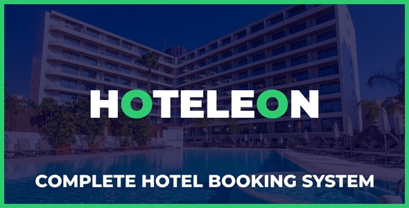 Hoteleon v1.0 – Complete Hotel Booking System – nulled PHP Script