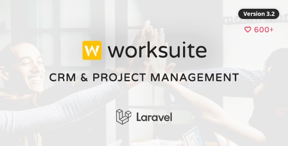 WORKSUITE v3.1.1 – CRM and Project Management PHP Script
