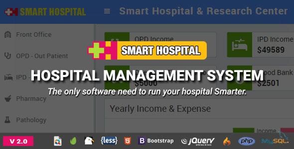 Smart Hospital v2.0 – Hospital Management System PHP Script