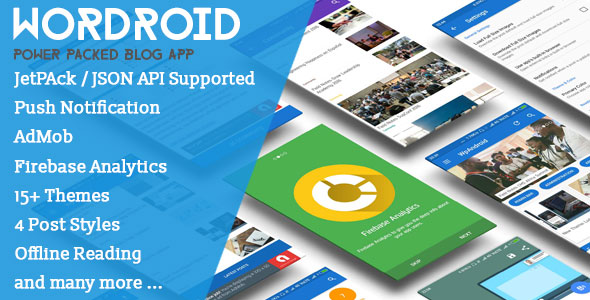 WorDroid v2.3 – Full Native WordPress Blog App Mobile App