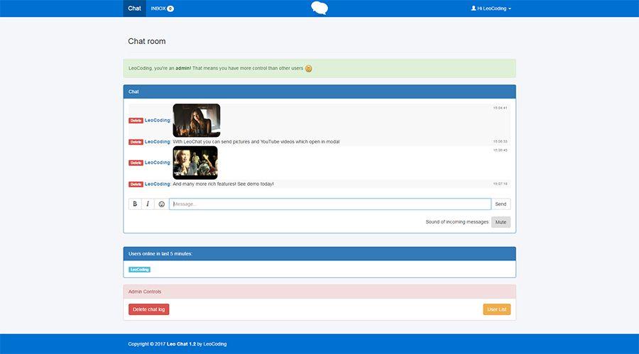 Chat2u PHP Script Download