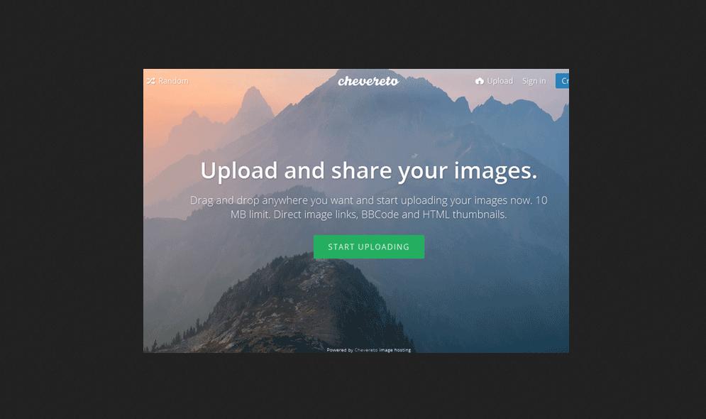 Chevereto Free Gallery PHP Script Free Download