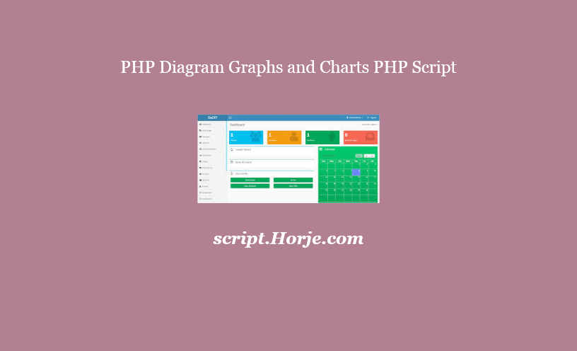 PHP Diagram Graphs and Charts PHP Script