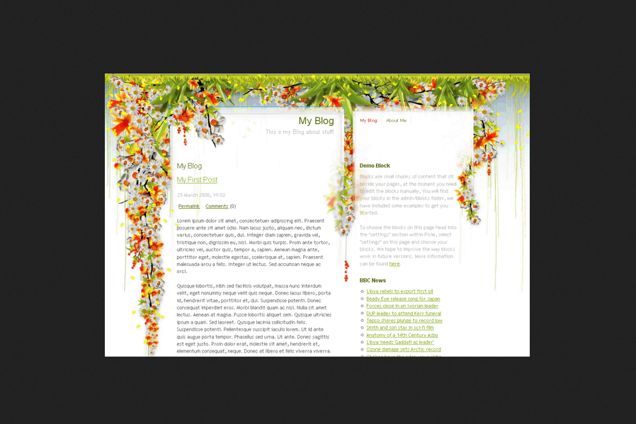 Pixie Blog PHP Script Free Download