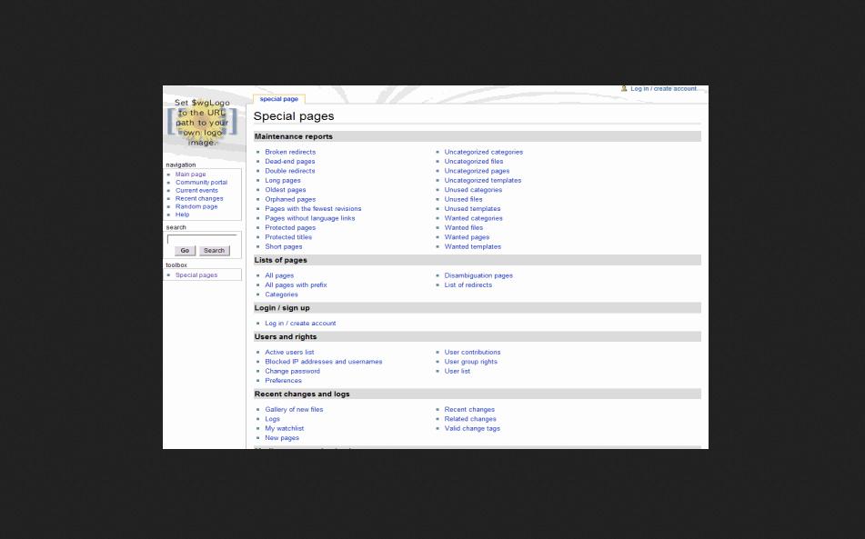 MediaWiki Wiki PHP Script Free Download