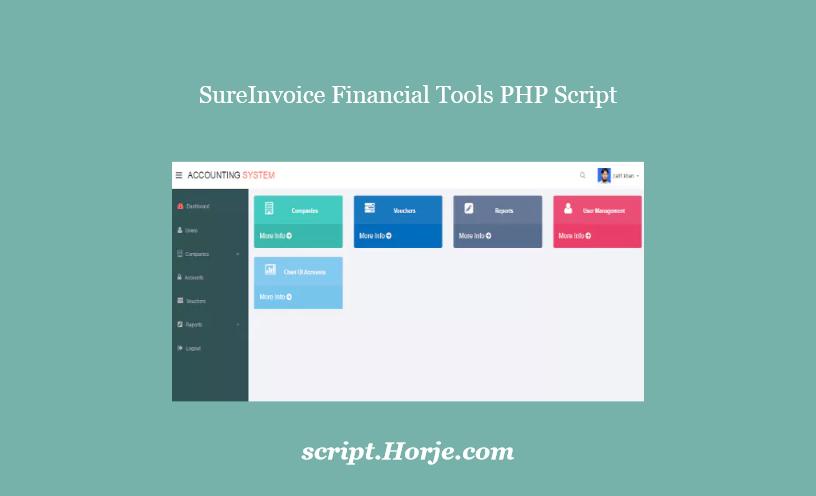 SureInvoice Financial Tools PHP Script