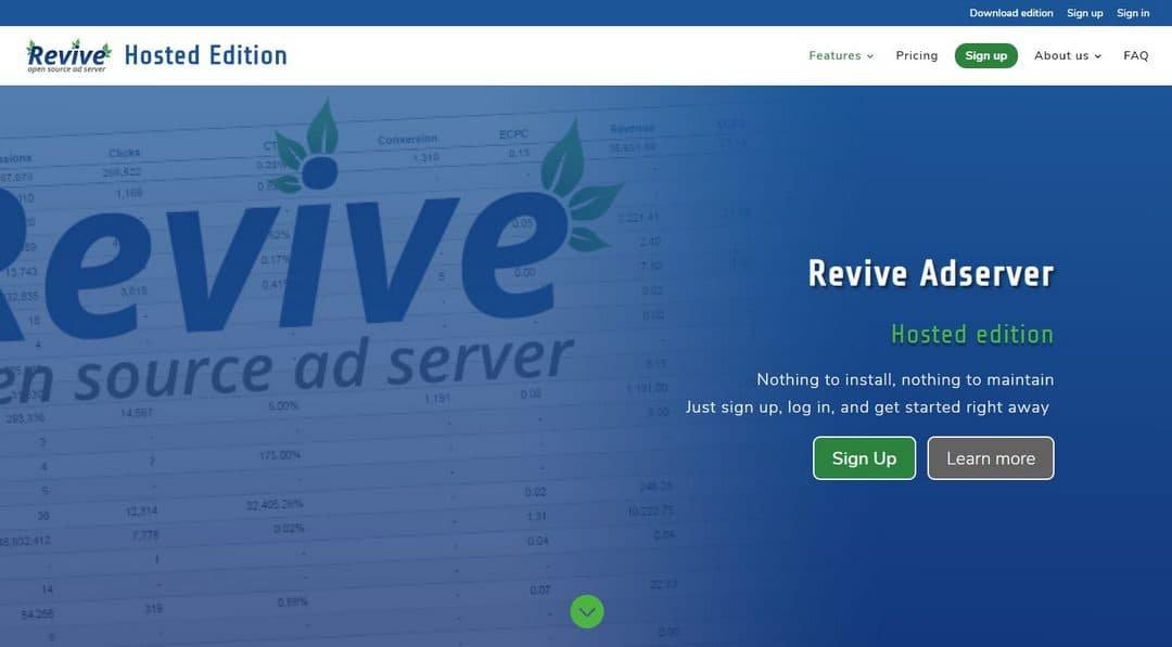 Revive Adserver Ad Management PHP Script Download