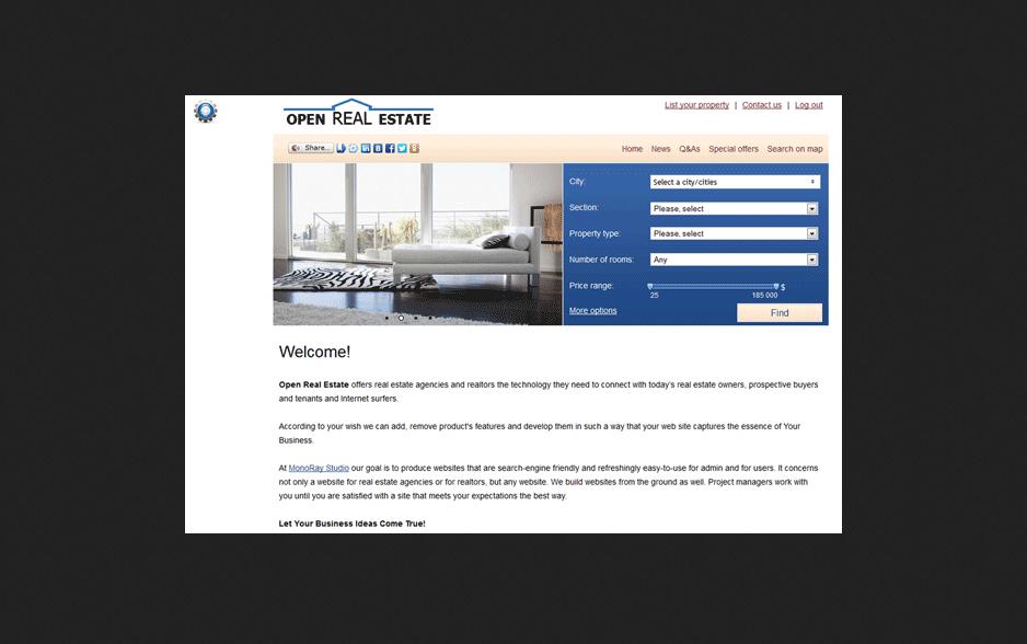 Open Real Estate CMS Portal PHP Script Free Download