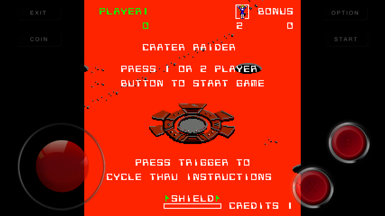 Crater Raider Android Mame Game Download