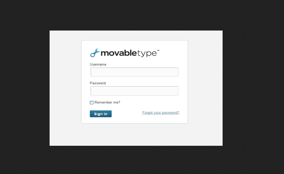 Movable Type Blog PHP Script Free Download