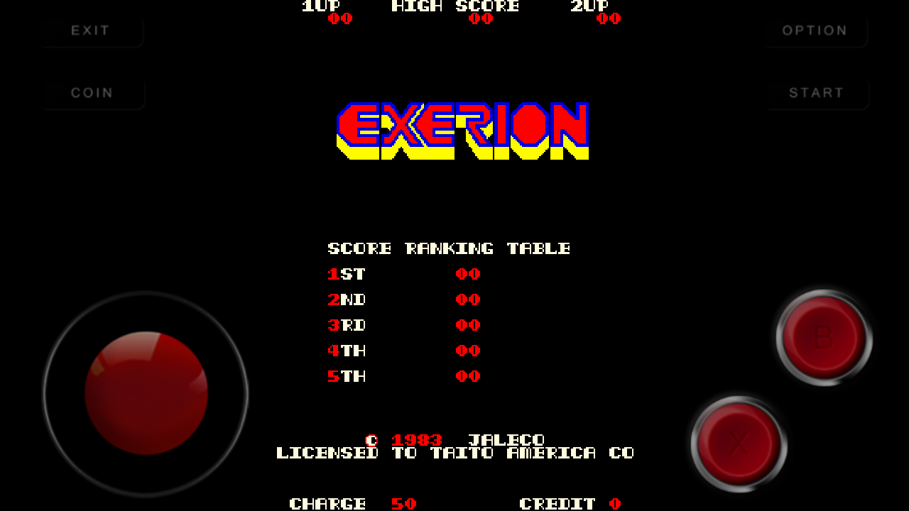 Exerion (Taito) Android Mame Game Download