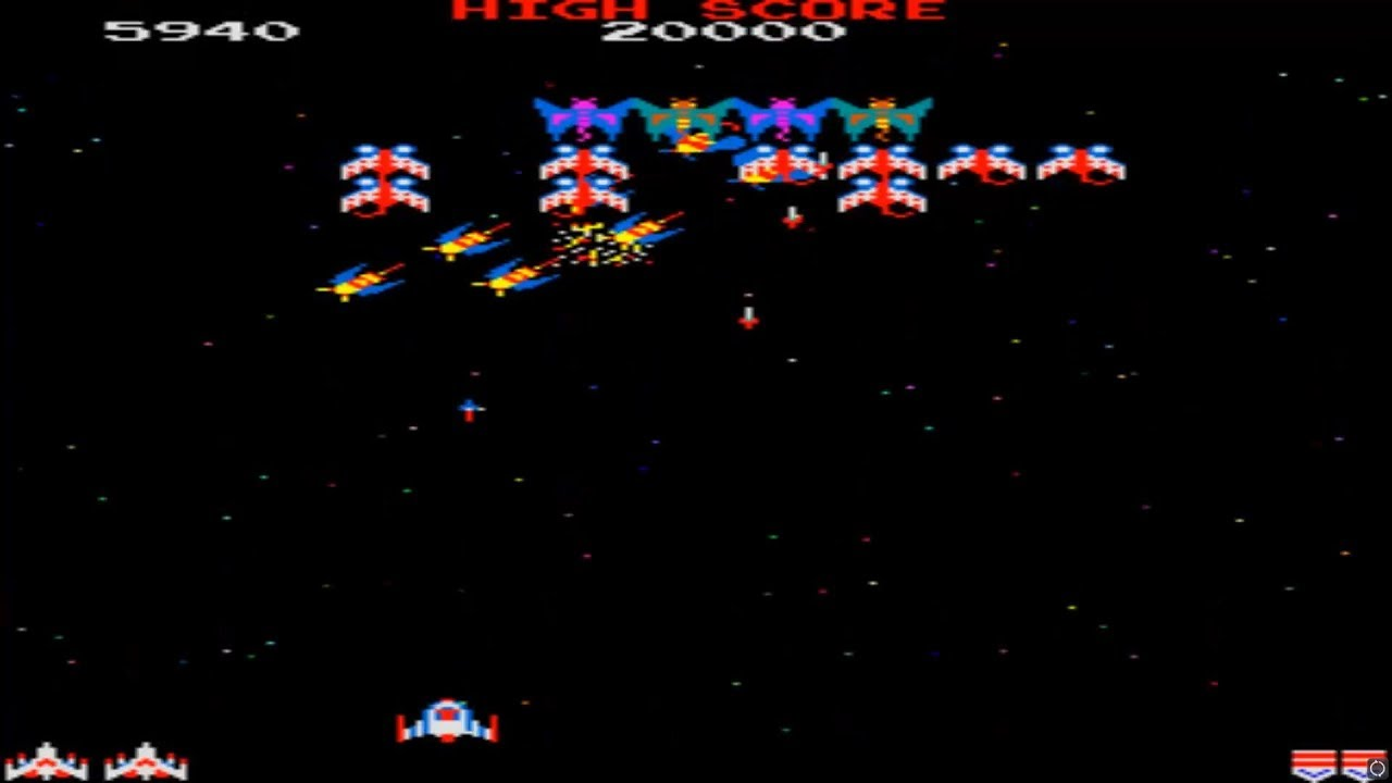 Galaga (Namco) Android Mame Game Free Download