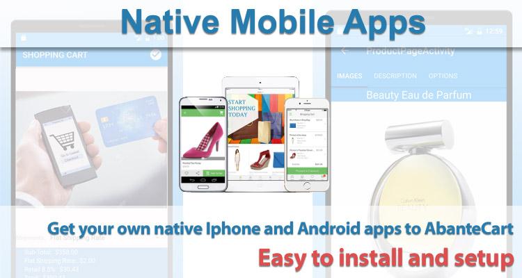 Abantecart Mobile App Extensions Free Download