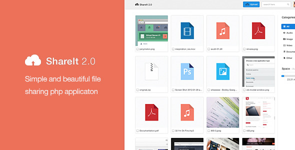 App Share AutoIndex v2 PHP Script Free Download
