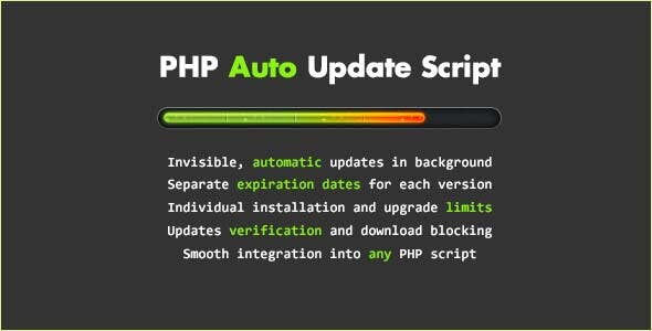 Auto Update v3 PHP Script Free Download