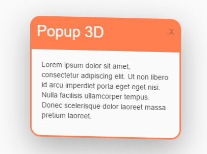 3D Interactive Popup Window With jQuery And CSS3 – 3D Popup | Free jQuery Script Download