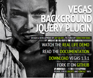 Amazing Background & Slideshow Plugin – Vegas | Free jQuery Script Download