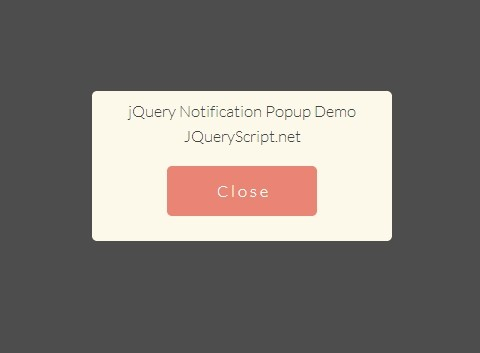 Create A Fullpage & Responsive Notification Box with jQuery and CSS3 | Free jQuery Script Download