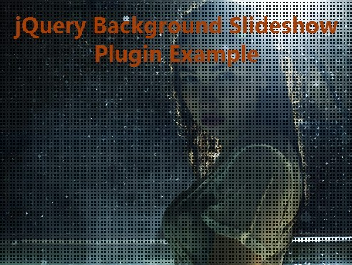 Fullscreen Background Image Slideshow Plugin with jQuery | Free jQuery Script Download