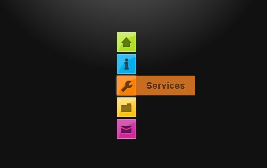 Pure CSS3 Navigation Menu with Animated Effect | Free jQuery Script Download