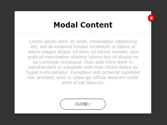 Simple CSS3 Animated Modal Window with jQuery – elegantModal | Free jQuery Script Download