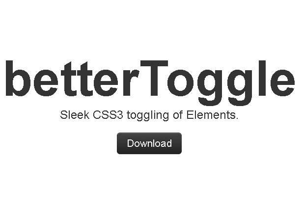 jQuery Plugin For Toggling Elements with Transform Effect – betterToggle | Free jQuery Script Download