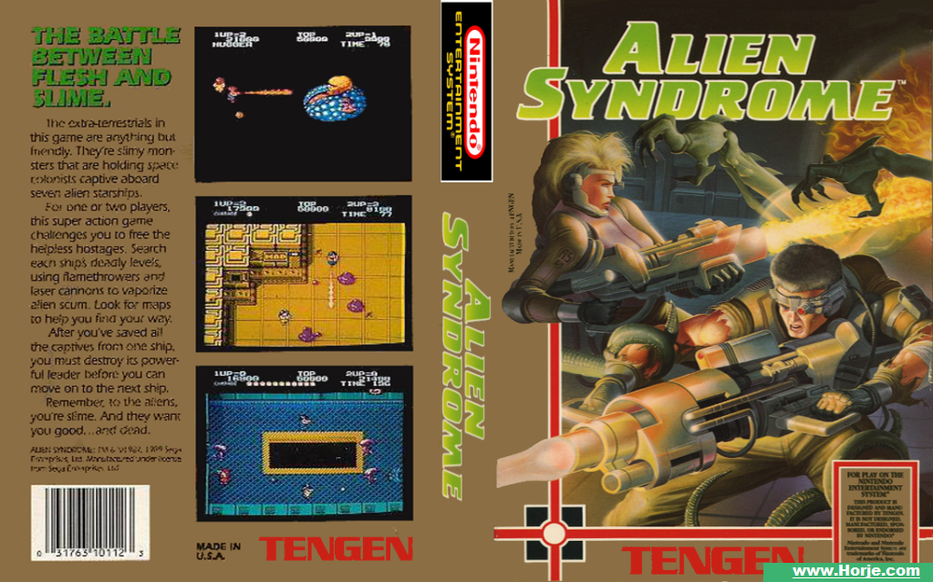 Alien Syndrome Mame Windows Game Download