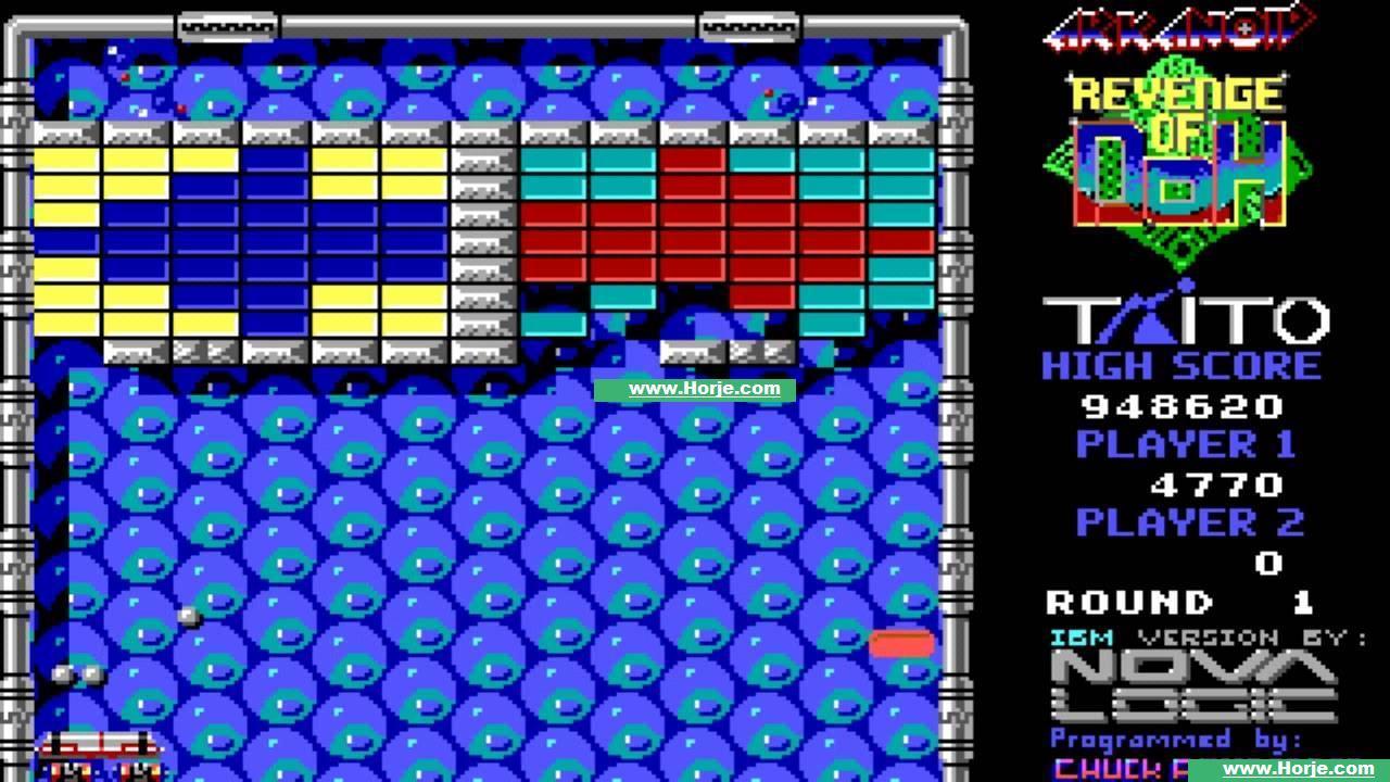 Arkanoid (bootleg with MCU set 2) Windows Game Download