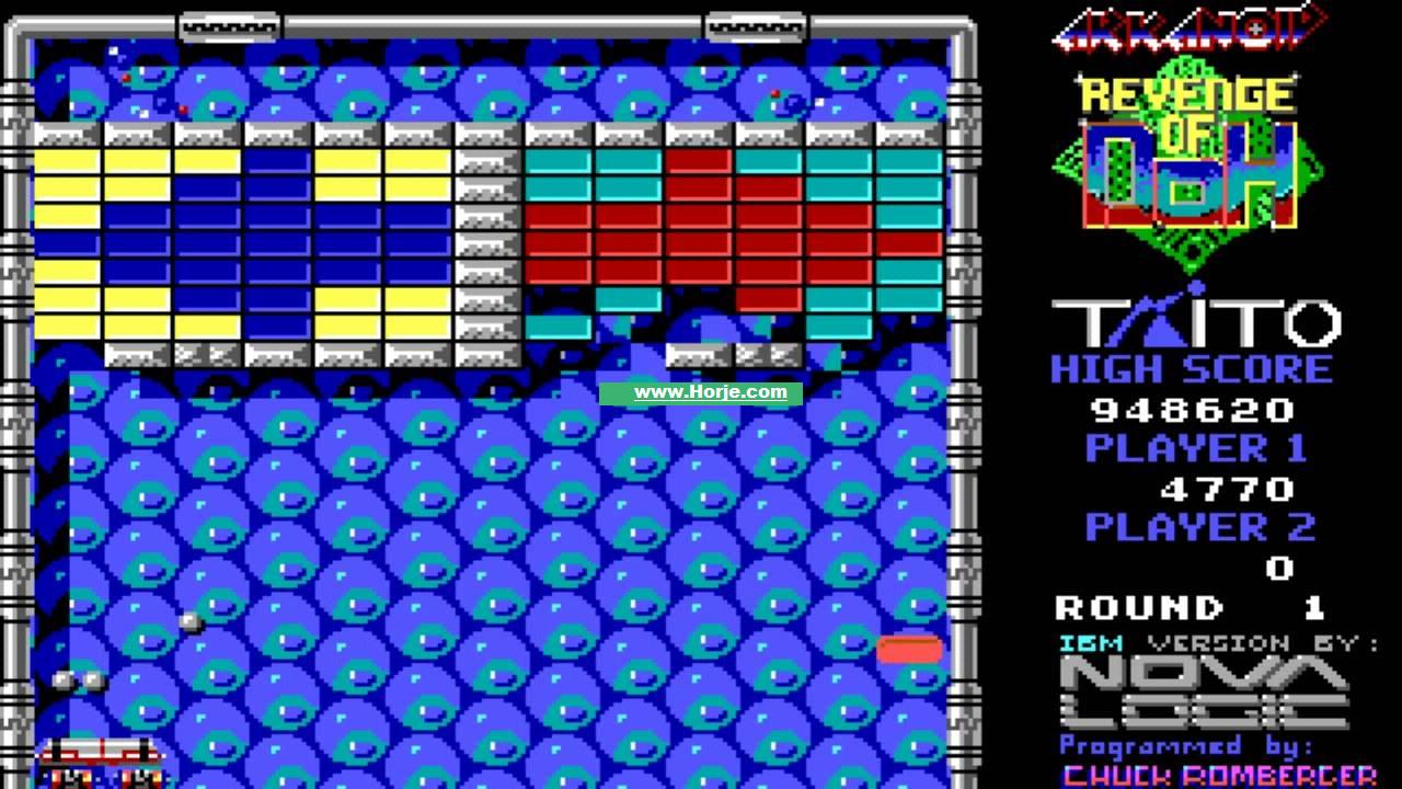 Arkanoid – Revenge of DOH (US) Windows Game Download