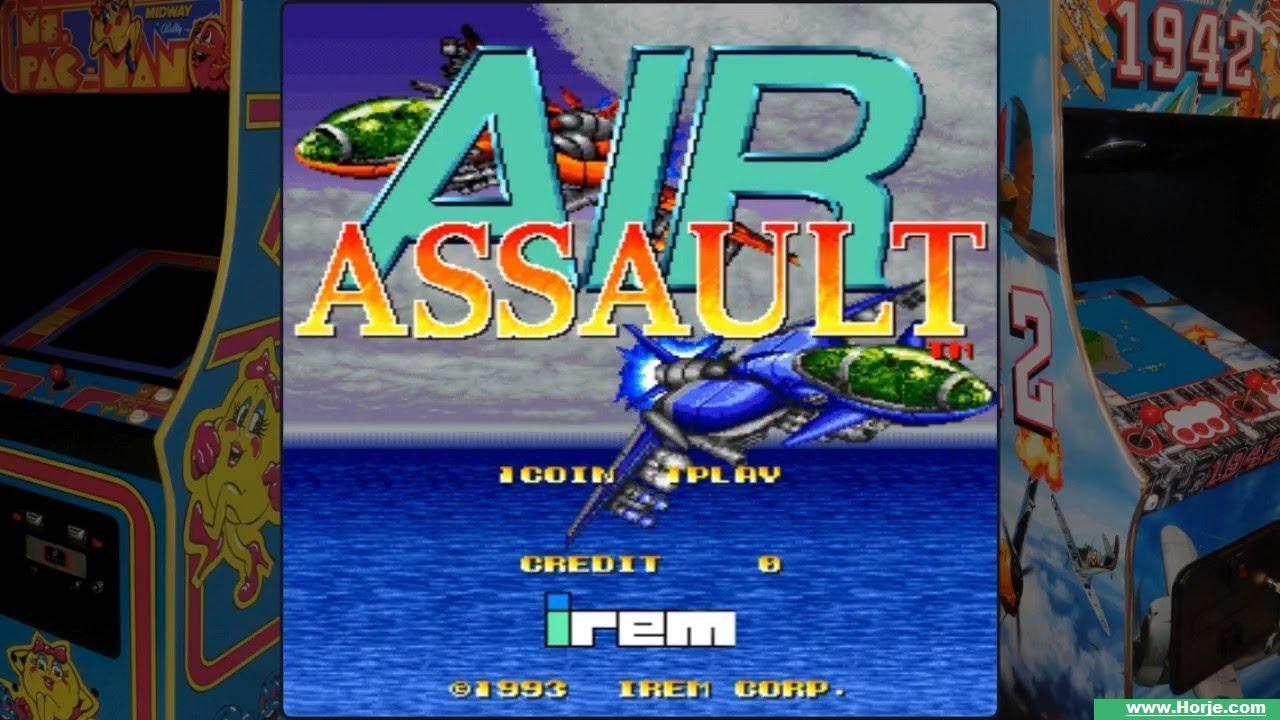 Assault Plus (Japan) Windows Mame Game Download